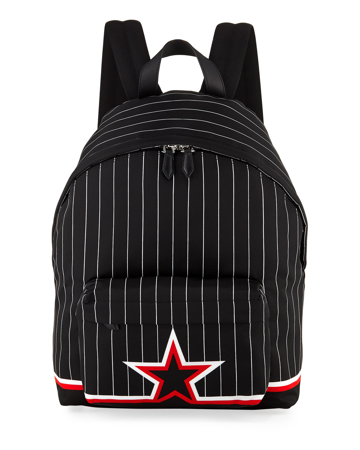 Ico Prints Striped Backpack