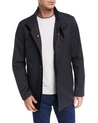 Ten-Pocket Car Coat