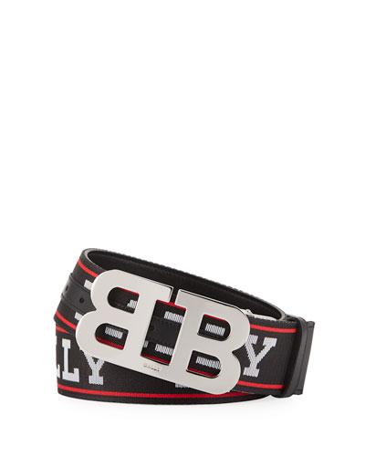 Mirror B Logo Belt
