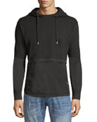 Double-Layer Hooded T-Shirt