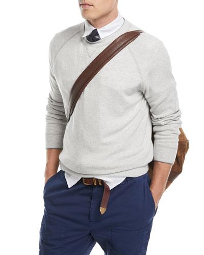 Athletic Crewneck Sweater