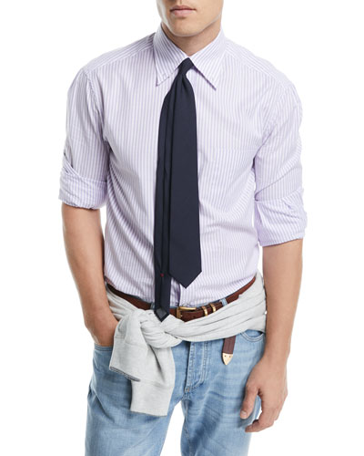 Cotton Striped Sport Shirt