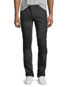 PRPS Le Sabre Moto Slim-Straight Jeans and Matching