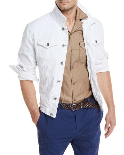Denim Jacket w/ Front Pockets