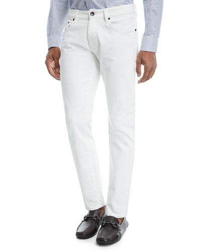 5-Pocket Slim-Straight Jeans