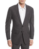 Two-Piece Glen Plaid Wool Suit