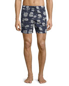 Boxer Mare Swim Trunks