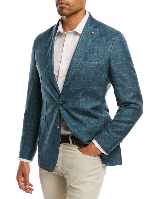 Binimi Windowpane Soft Jacket