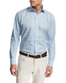 Bahama Bay Plaid Sport Shirt