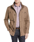 Discovery All-Weather Jacket with Pack-Away Hood