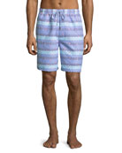 Sail Away Swim Trunks