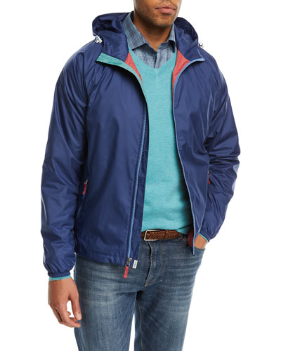 Seaside Wind-Resistant Hooded Jacket