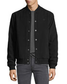 Men's Casual Varsity Jacket