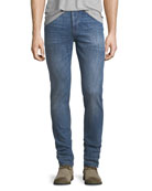 Men's Axl Stretch-Denim Skinny Jeans, Racking