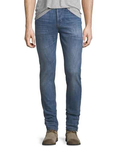 Axl Stretch-Denim Skinny Jeans, Racking