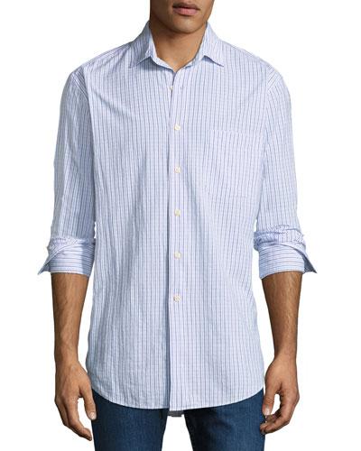 Rockport Striped Sport Shirt