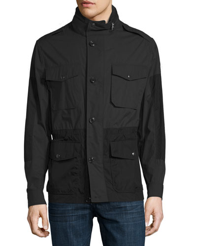 Cotton & Nylon Field Jacket