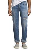 Men's Dixon Easy Straight Jeans, Landmark