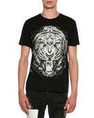 Lion Face Jersey T-Shirt