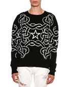 Rope & Star Knit Sweater