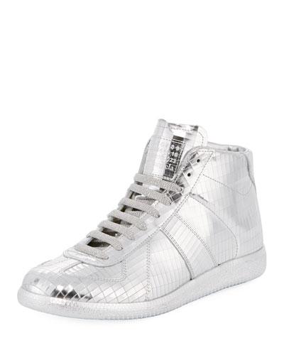Disco Replica Mid High-Top Sneaker