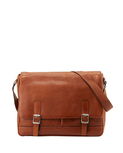 Oliver Men's Flap Messenger Bag