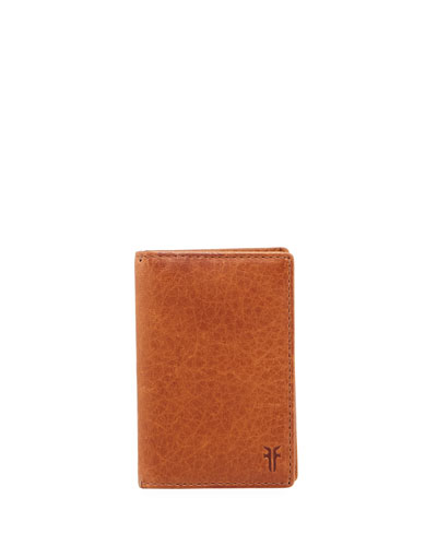 Oliver Tall Leather Bi-Fold Wallet