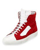 Artel Suede High-Top Sneaker