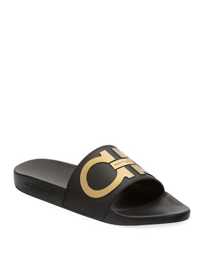 Groove Gancini Pool Slide Sandal