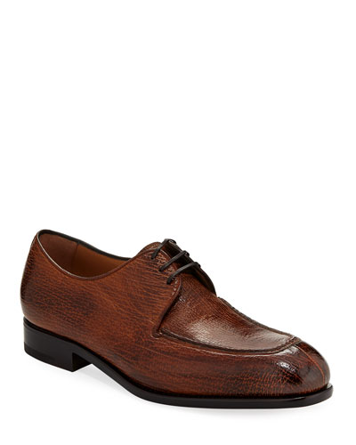 Men's Pavia Special Edition Lace-Up Sharkskin Shoe