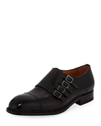 Tramezza Four-Monk Shoe