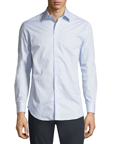 Neat Fancy Print Sport Shirt