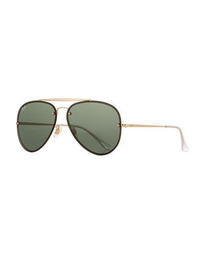 RB3584 Aviator Sunglasses, Gold