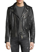 Sidmouth Leather Biker Jacket