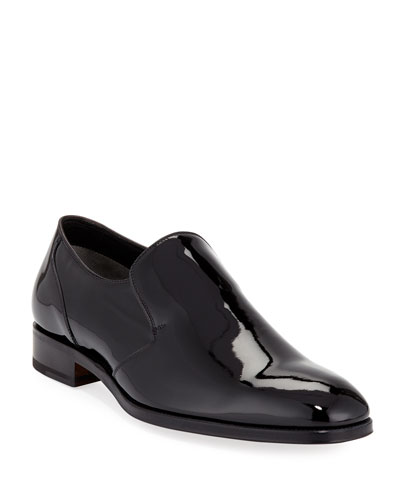 Slip-On Patent Leather Formal Loafer