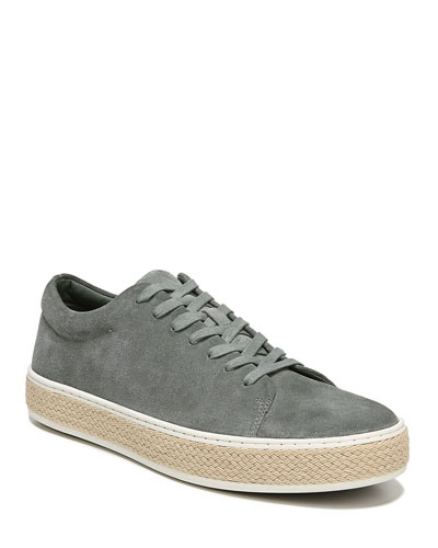 Men's Ernesto Sport Suede Low-Top Sneakers