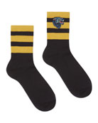 Gowall Wolf Striped Socks