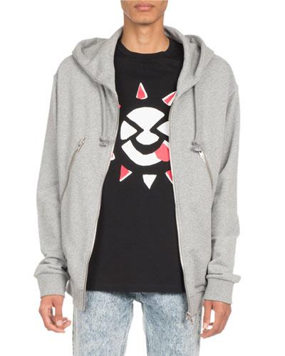 Zipper Hoodie Jacket