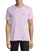 Joeforth Short-Sleeve Cotton T-Shirt, Light Pink