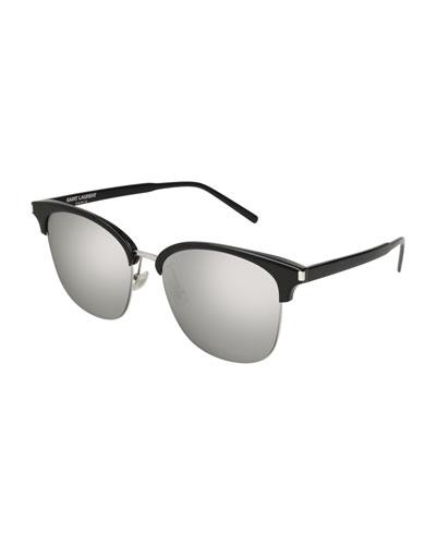 SL 201 Half-Rim Sunglasses