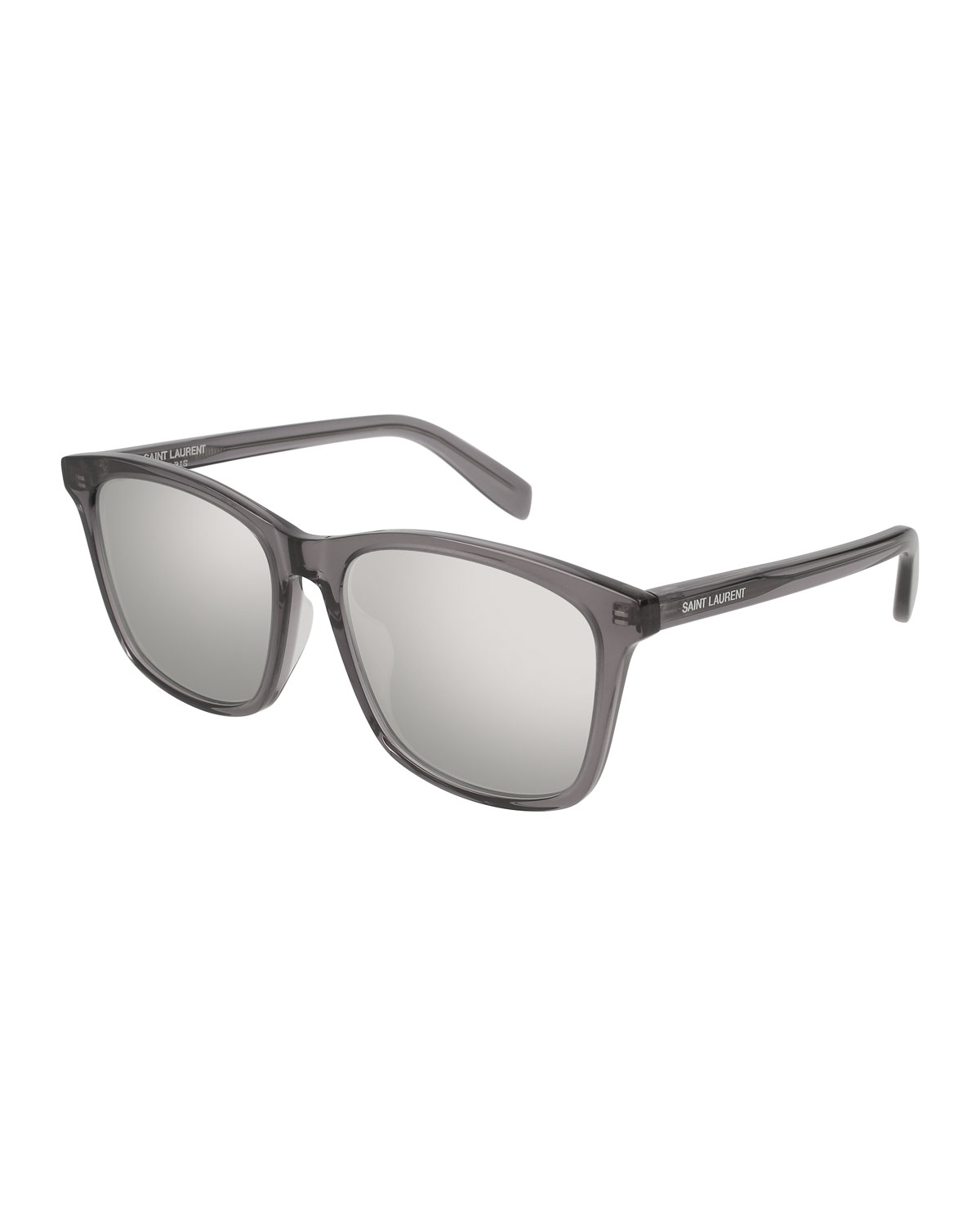 Universal Fit Slim Mirrored Sunglasses
