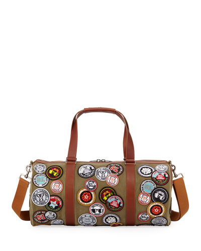 Men's Noe Patches Canvas Duffel Bag