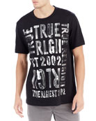 Brushed Graphic T-Shirt