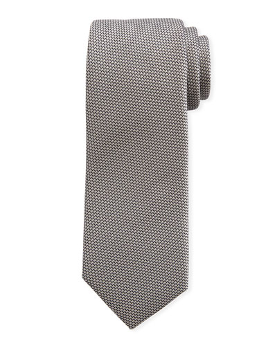 Large Grenadine Silk Tie