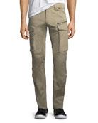 Rovic 3D Zip Cargo Pants, Dune