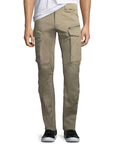 Rovic 3D Zip Cargo Pants, Dune
