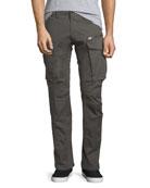 Rovic 3D Zip Cargo Pants