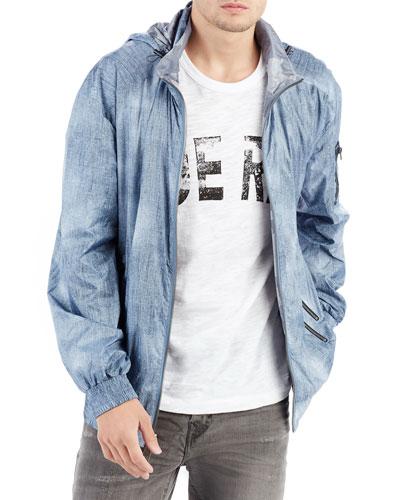 Reversible Jacket w/ Hood