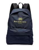 Men's Double-B Logo Backpack