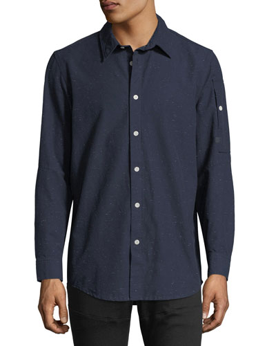 Stalt Clean Lightweight Premium Denim Shirt